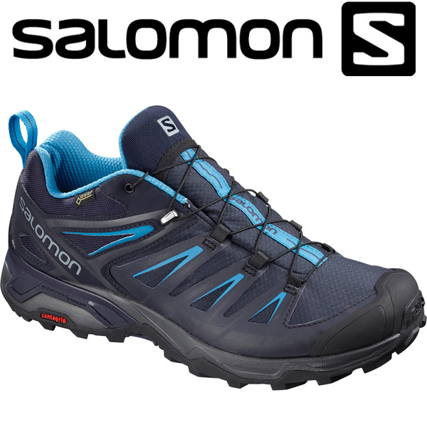 サロモン X ULTRA 3 GTX ハイキング&マルチファンクション シューズ メンズ L40242300