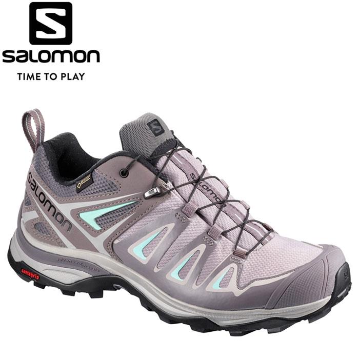 サロモン X ULTRA 3 GORE-TEX W トレッキングシューズ レディース L40167000