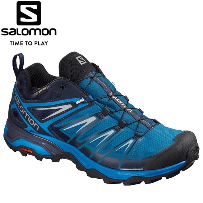 サロモン X ULTRA 3 GORE-TEX トレッキングシューズ メンズ L40467600