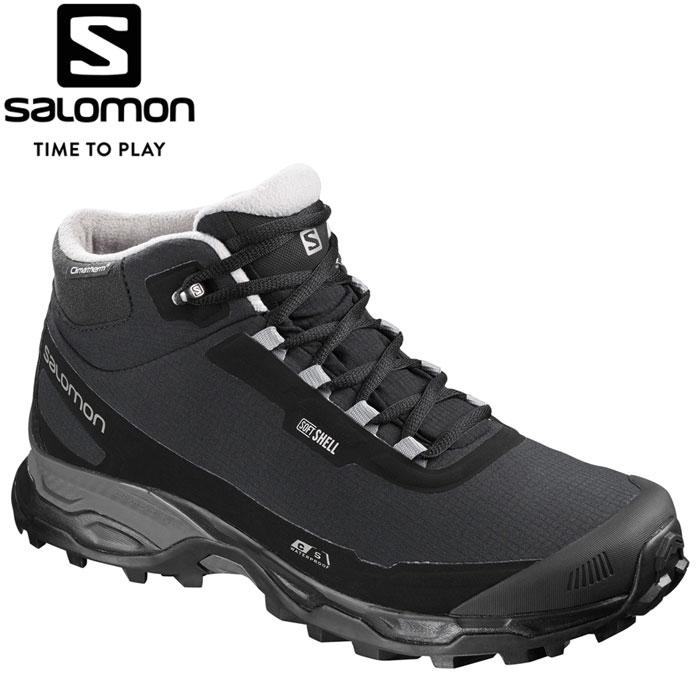サロモン SHELTER SPIKES CSWP ウィンター スノー シューズ メンズ L40473000