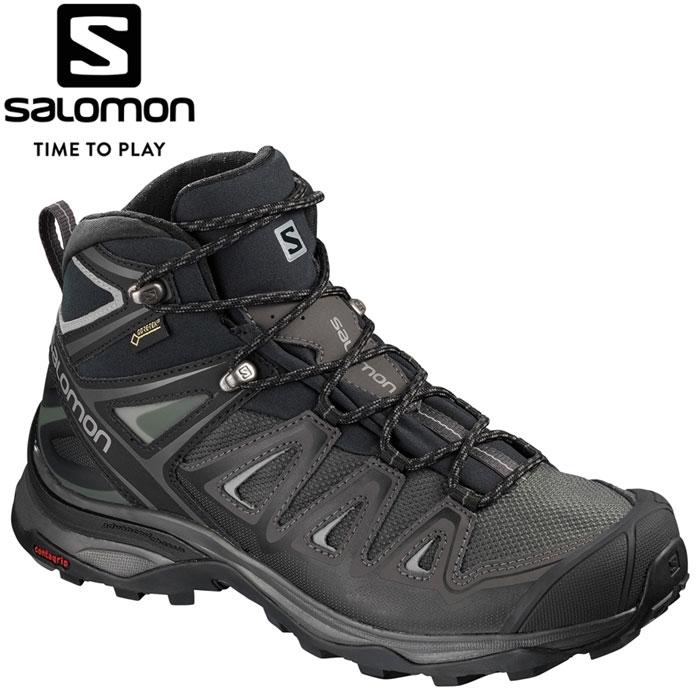 サロモン X ULTRA 3 MID GORE-TEX W トレッキングシューズ レディース L40475600
