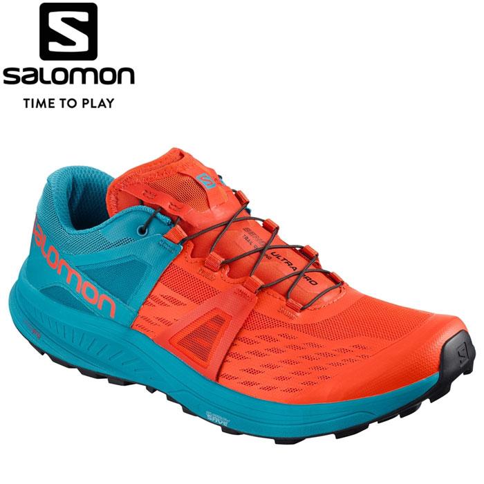 サロモン ULTRA PRO ランニングシューズ メンズ L40492100