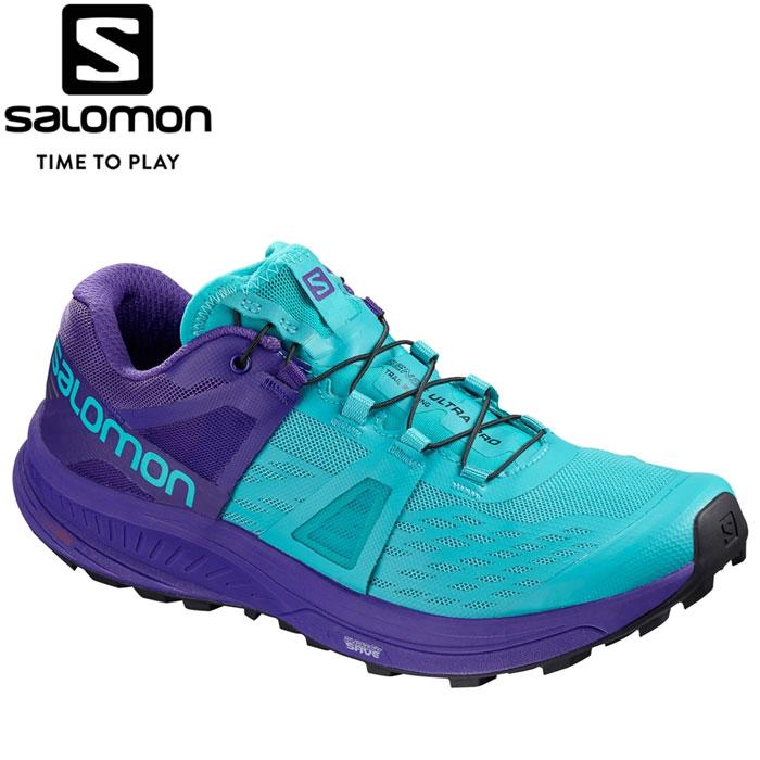 サロモン ULTRA PRO W ランニングシューズ レディース L40494800