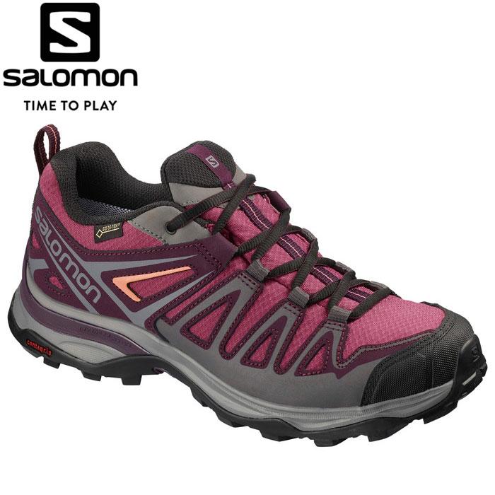 サロモン X ULTRA 3 PRIME GORE-TEX W トレッキングシューズ レディース L40659100