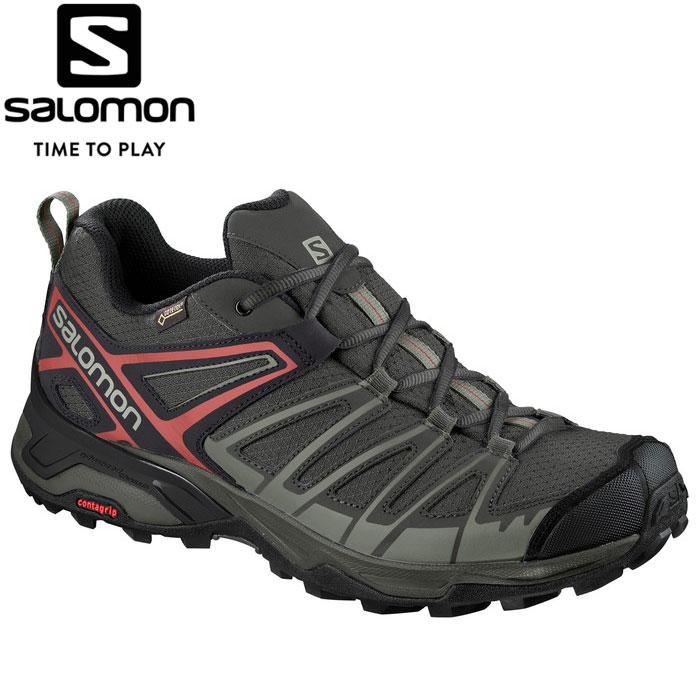 サロモン X ULTRA 3 PRIME GORE-TEX トレッキングシューズ メンズ L40741400