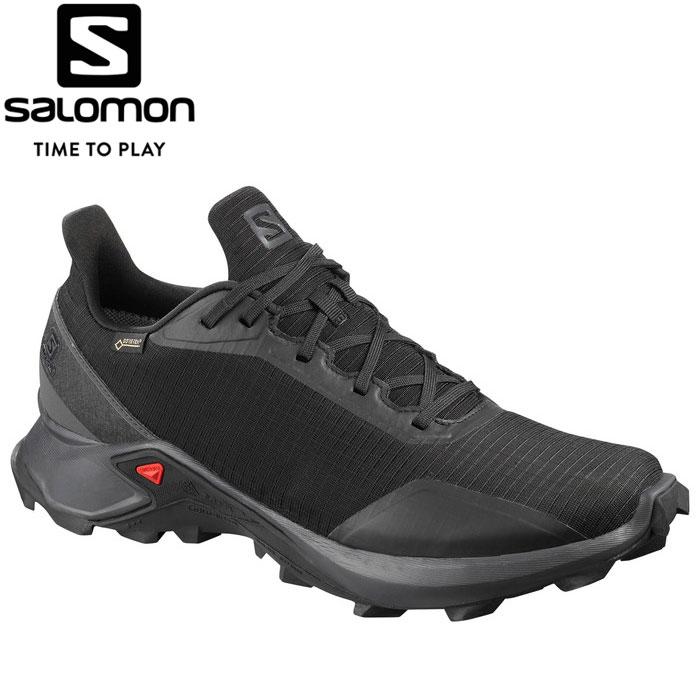 サロモン ALPHACROSS GORE-TEX トレイルランニングシューズ メンズ L40805100