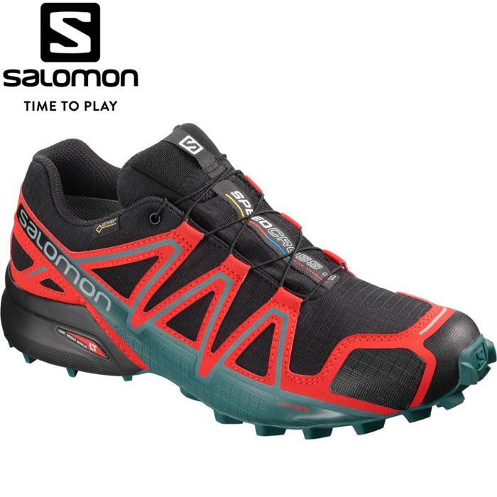 サロモン SPEEDCROSS 4 GORE-TEX トレイルランニングシューズ メンズ L40657500