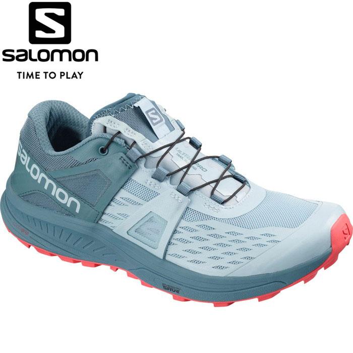 サロモン ULTRA PRO W トレイルランニングシューズ レディース L40677000