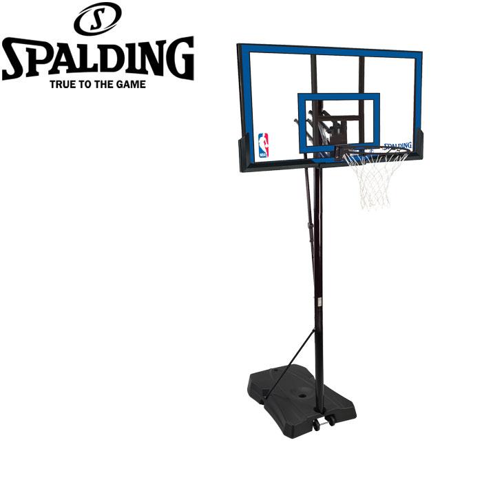 【購入特典付き】 【メーカー直送】 スポルディング バスケットゴール ゲームタイムシリーズ NBAロゴ入り 73655CN