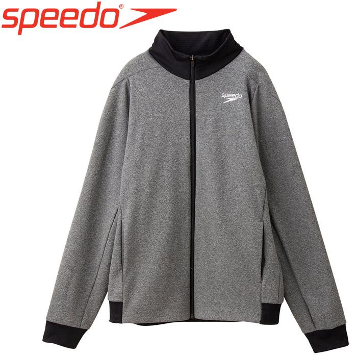 スピード 水泳 サーキュラーストレッチジップジャケット SA21960-MX