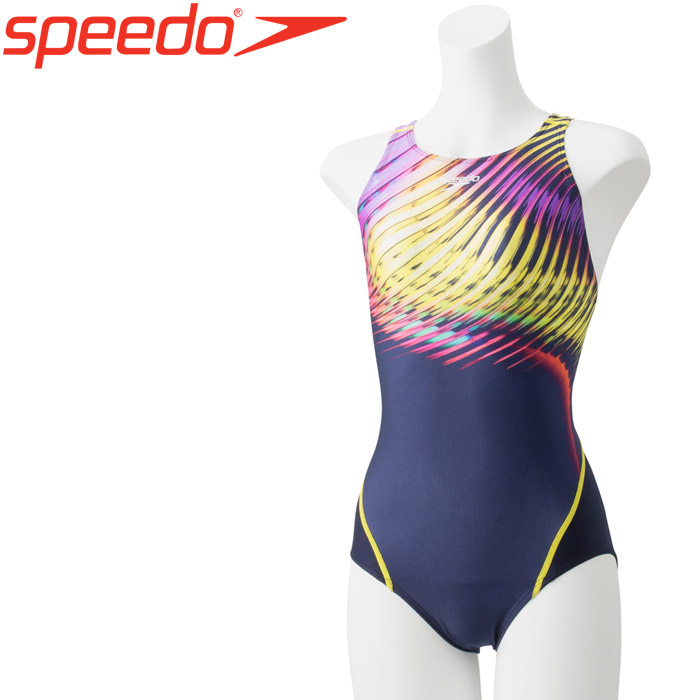 スピード 水泳 フレックスシグマウィメンズコンフォカットスーツII 競泳 水着 レディース SCW01952F-PU 《返品不可》