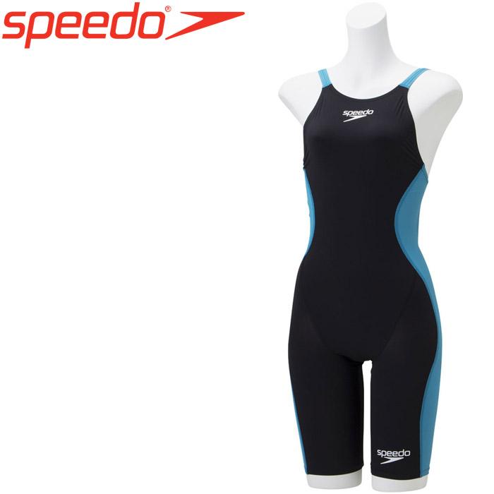 スピード 水泳 ドレークニースキン 競泳 水着 レディース SCW11905F-KP 《返品不可》