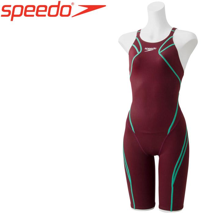スピード 水泳 アトラスニースキン 競泳 水着 レディース SCW11906F-VL 《返品不可》
