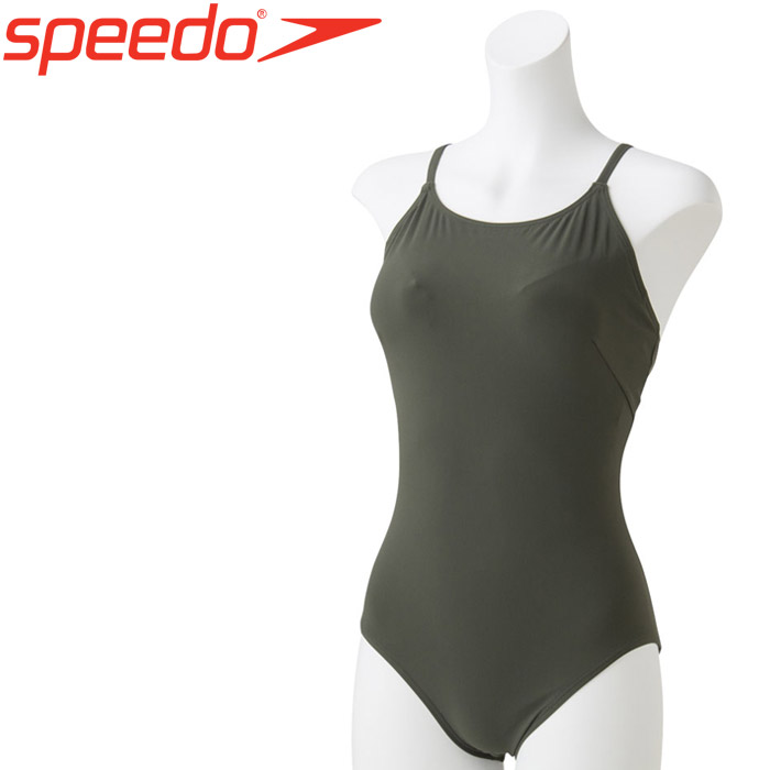 スピード 水泳 リファインオープンクロスバックスーツ 水着 レディース SFW01921-KH 《返品不可》