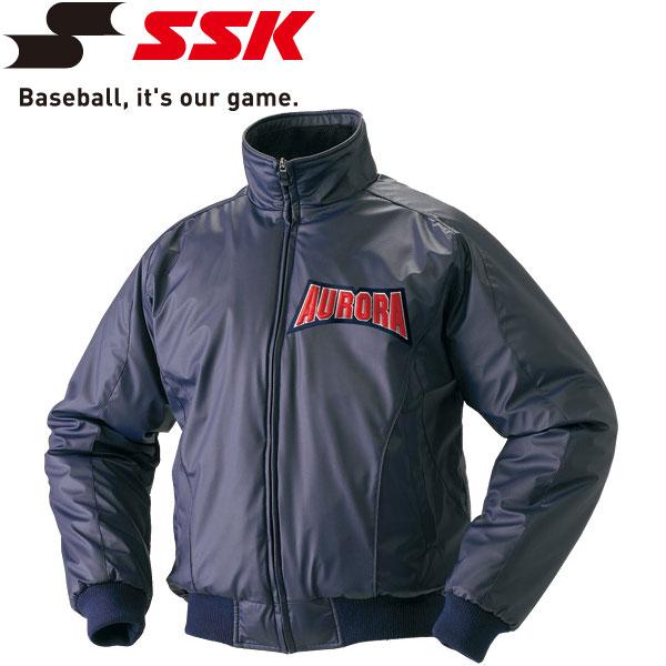 エスエスケイ SSK 野球 蓄熱グラウンドコート フロントフルZIP 中綿 メンズ・ユニセックス BWG1002-70