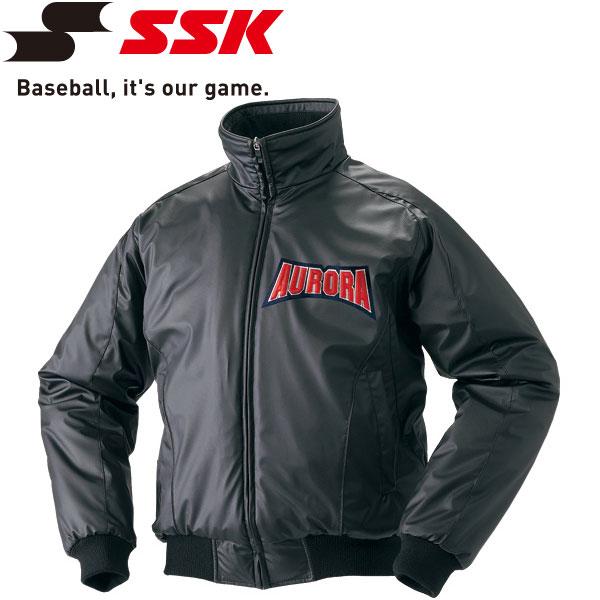 エスエスケイ SSK 野球 蓄熱グラウンドコート フロントフルZIP 中綿 メンズ・ユニセックス BWG1002-90