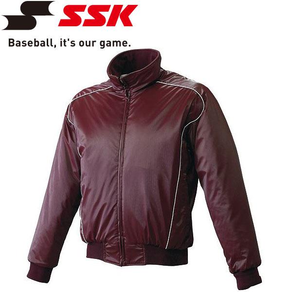 エスエスケイ SSK 野球 蓄熱グラウンドコート フロントフルZIP 中綿 メンズ・ユニセックス BWG1003-2210