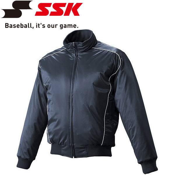 エスエスケイ SSK 野球 蓄熱グラウンドコート フロントフルZIP 中綿 メンズ・ユニセックス BWG1003-7010