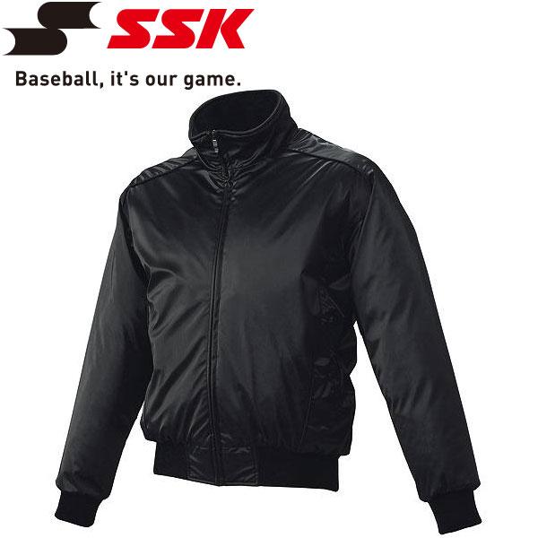 エスエスケイ SSK 野球 蓄熱グラウンドコート フロントフルZIP 中綿 メンズ・ユニセックス BWG1003-90