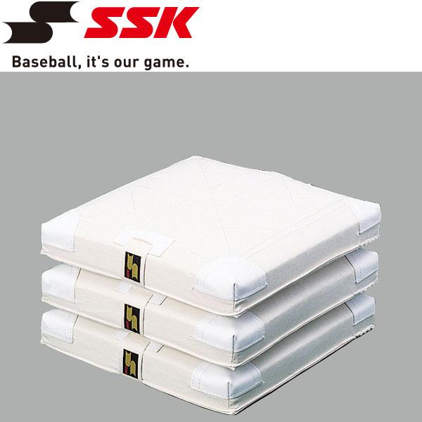 エスエスケイ SSK 野球 軟式・ソフトボール用塁ベース YM16