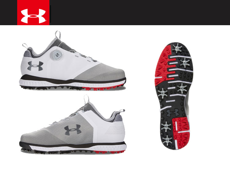 best website 3a036 96251 FZONE: 18SS under Armour UA Tempo Sport 2 BOA 2E 3020800 men's golf ...