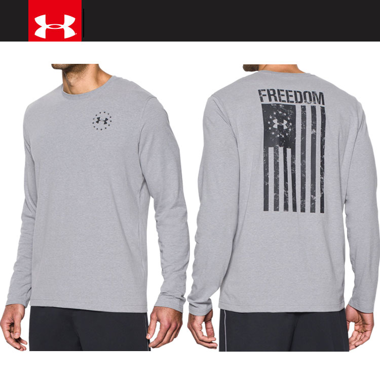 32d358c3 ... Under Armour FREEDOM FLAG LS T 1,299,259-025 men's long sleeves T-shirt