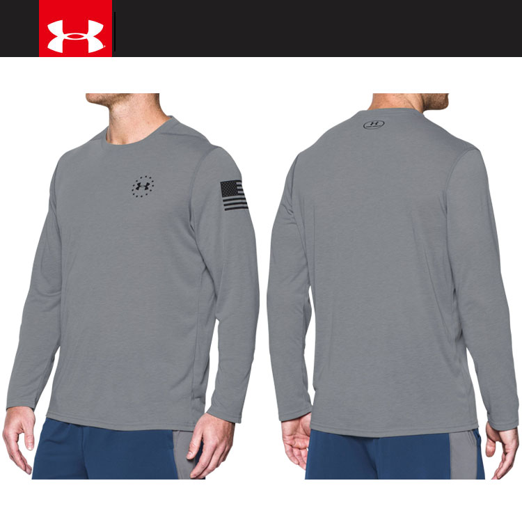 e401d396 ... Under Armour UA FREEDOM SIRO LS T 1,301,248-025 men's long sleeves T- shirt