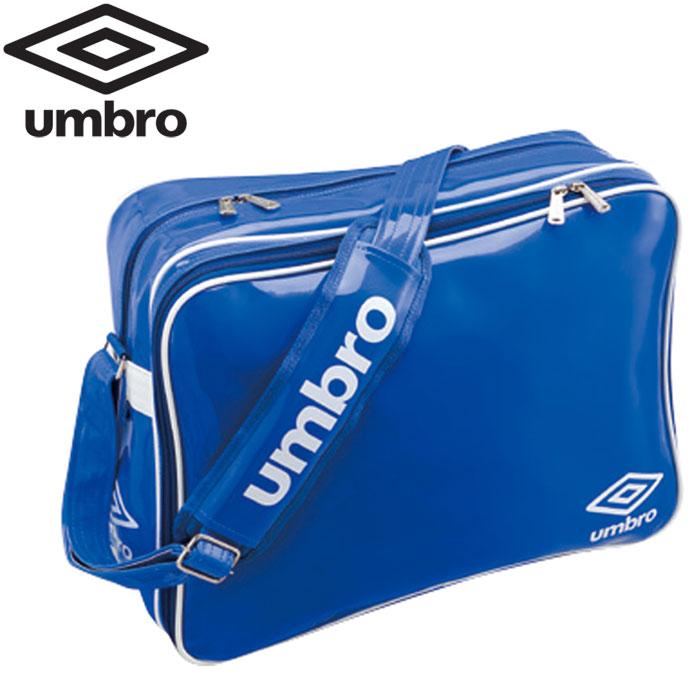アンブロ サッカー エナメルショルダーL UJS1007-BLU