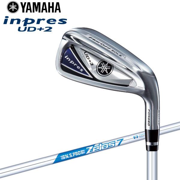 【あす楽対応】 ヤマハ 2019年モデル インプレス UD+2 アイアン 4本セット N.S.PRO ZELOS7 スチール