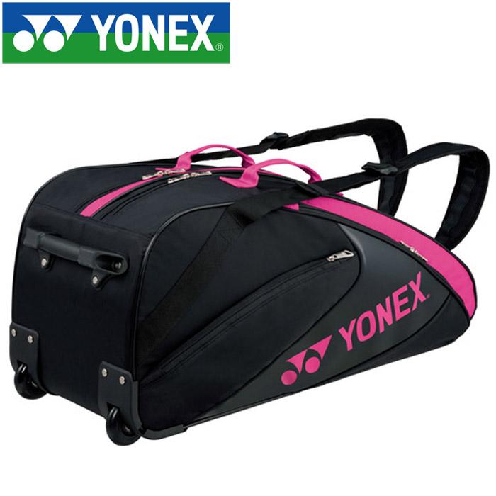 ヨネックス テニス ラケットバッグ キャスター付き 6本用 BAG1732C-181