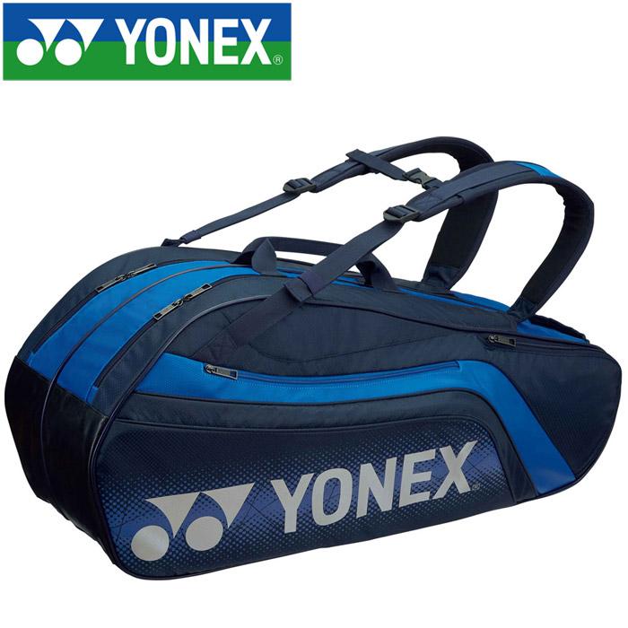 ヨネックス テニス ラケットバッグ6 リュック付き 6本用 BAG1812R-019