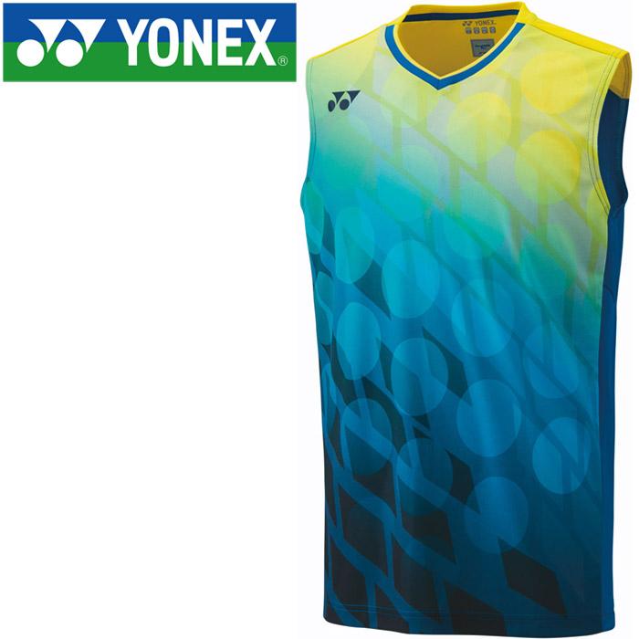 ヨネックス バドミントン ゲームシャツ ノースリーブ メンズ 10283-002