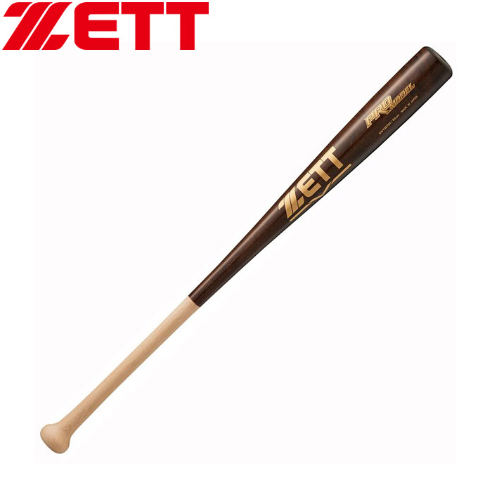 ゼット 軟式 木製バット プロモデル 84cm 一般・中学生 野球 BWT38784-1237M