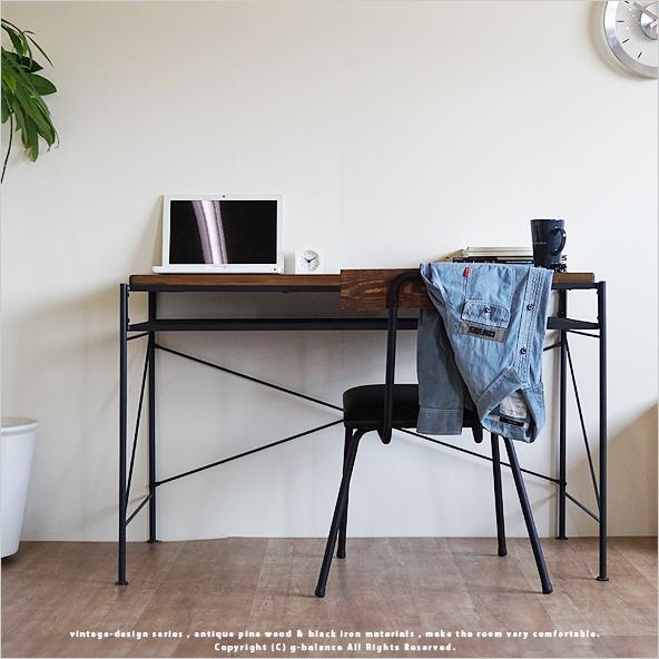 ... Computer desk antique PC desk desk learning desk high type 110 55 cm  solid solid wood ... - G-balance: Computer Desk Antique PC Desk Desk Learning Desk High