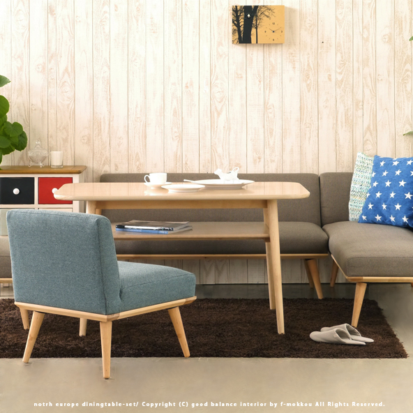 Dining Table Set Bench Sofa Sofa Dining Table Dining Set 4 Piece Set Solid  Material Solid Low Slung Dining Chair Nordic Simple Interior / Bedding  Storage ...
