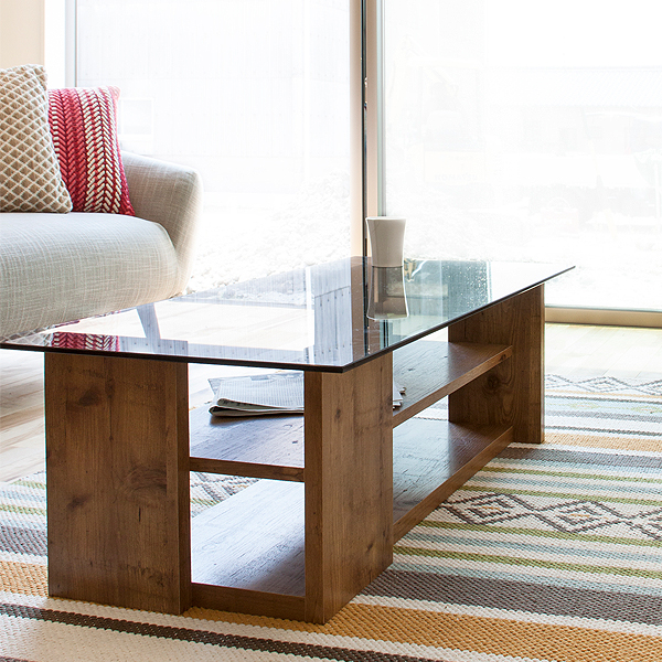 g-balance: Living room table Center table glass table 100 simple ...
