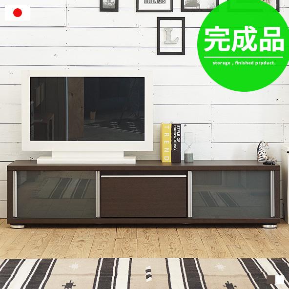テレビ台 ローボード 完成品 白 ホワイト 北欧 おしゃれ テレビボード tv台 tvボード リビングボード リビング収納 木製 ガラス シンプル モダン 高級感 引き出し 引き戸 スライド 160幅 幅160cm 国産 日本製