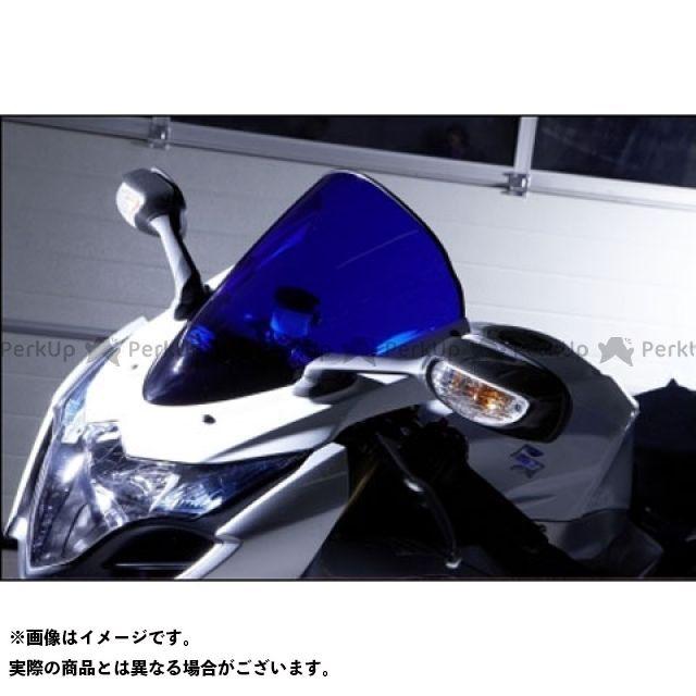 EUスズキ GSX-R1000 Racing screen ブラック/ブルー/スモーク GSX-R1000(09-11)