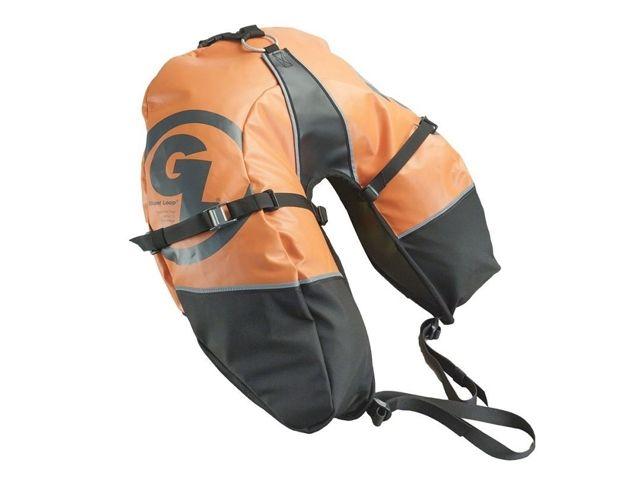 Giant Loop ジャイアントループ ツーリング用バッグ サドルバッグ 「Coyote」 2013モデル オレンジ