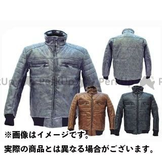 CLEVER HOMME COL-115 Fack Leather Jacket カラー:グレー サイズ:LL クレバーオム