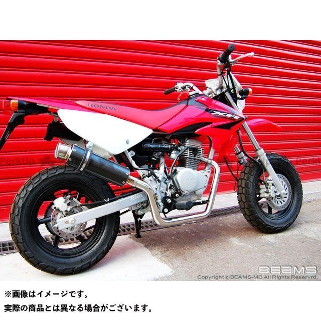 ビームス XR50モタード SS300 マフラー カーボン