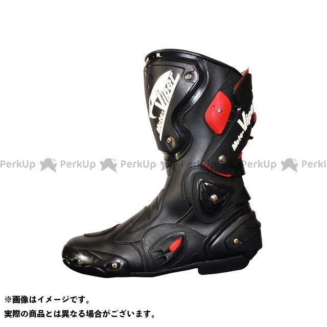 送料無料 moto-VIPER モトバイパー ライディングブーツ 2016-2017秋冬モデル MV-811 RACING BOOTS ブラック 45/27.5cm