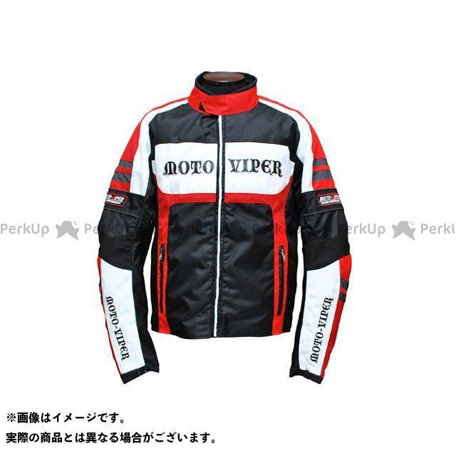 moto-VIPER MV-13 GAL-NE WINTER JACKET カラー:ホワイト×レッド サイズ:3L モトバイパー