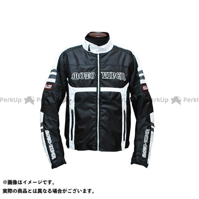 moto-VIPER MV-13 GAL-NE WINTER JACKET カラー:ホワイト×ブラック サイズ:LL モトバイパー