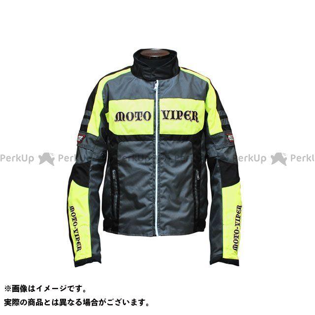 moto-VIPER MV-13 GAL-NE WINTER JACKET カラー:フラッシュイエロー/グレー サイズ:LL モトバイパー