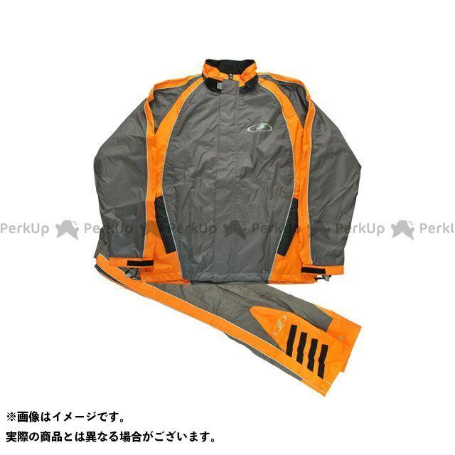 送料無料 seal's シールズ レインウェア 2016-2017秋冬モデル SLR-506 RAIN SUIT オレンジ 3L