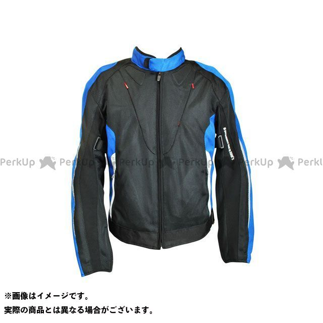 seal's SLB-636 SPORTS MESH JACKET ブルー L シールズ