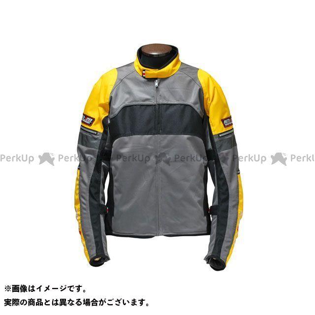 送料無料 moto-VIPER モトバイパー ジャケット 2016春夏モデル MV-64 GAL-NE MESH JACKET イエロー L
