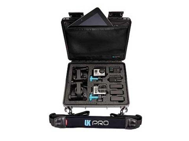 UKPRO ユーケープロ ツーリングギア・その他ツーリング用品 UK Pro POV40(GoPro HERO3+専用ハードケース) ショルダーストラップ