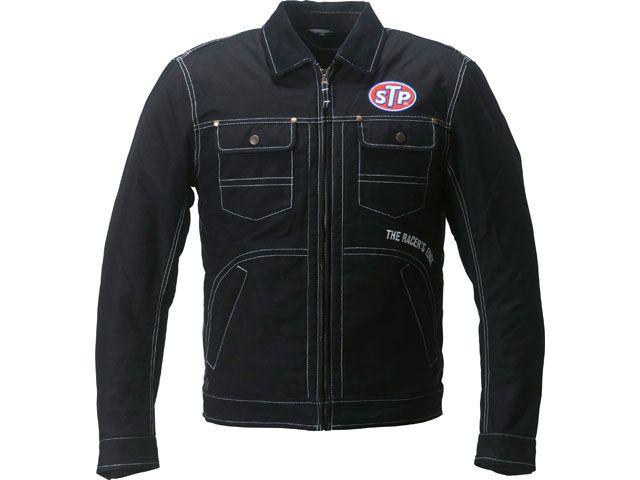 送料無料 STP エスティーピー ジャケット 2018-2019秋冬モデル STP18101W コットン ジャケット(ブラック) L2W